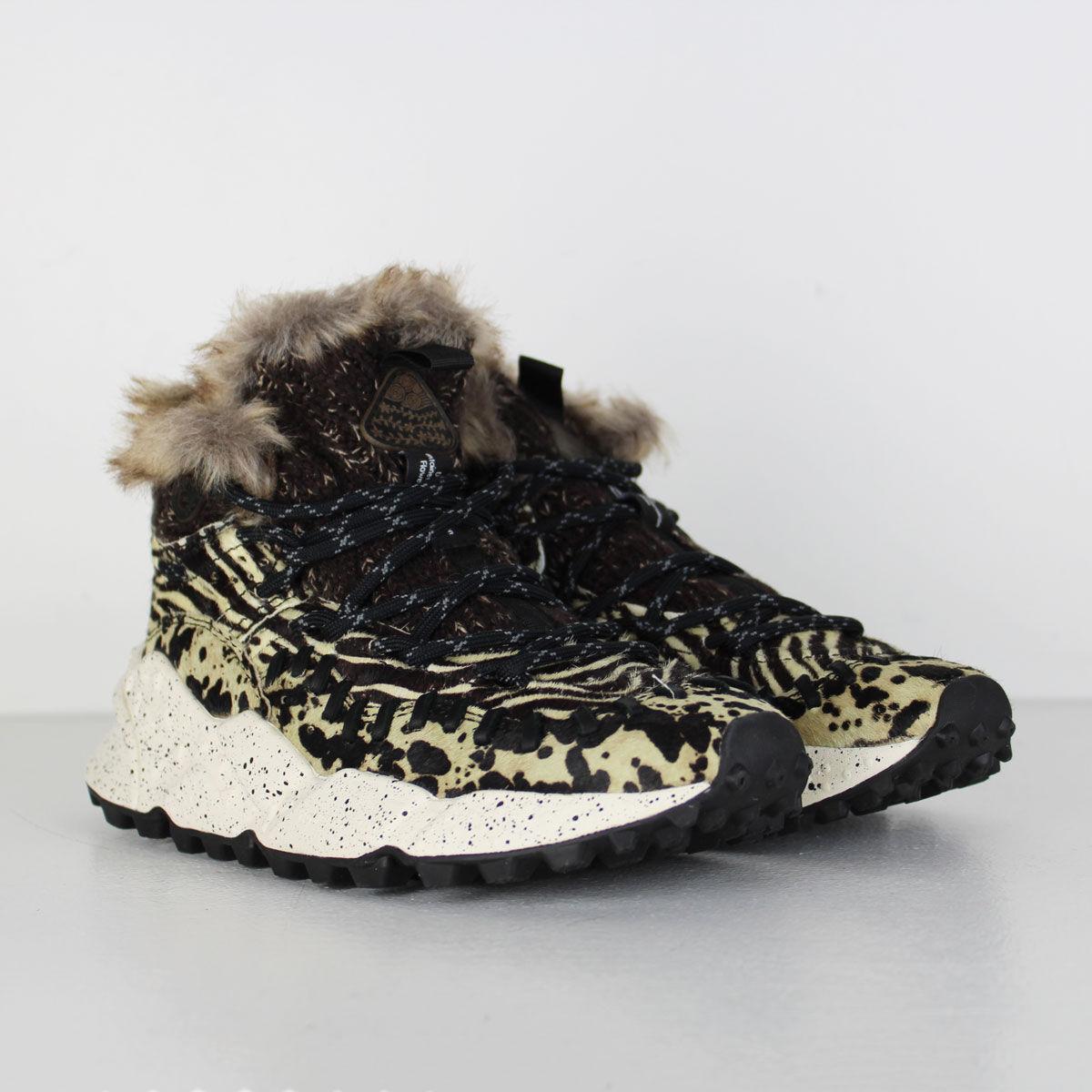 huge discount 6688a 33ece Flower Mountain - Zebra High Sneaker